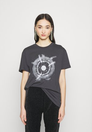 OUT OF WORLD TEE - T-Shirt print - grey