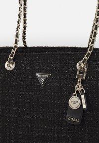 Guess - HANDBAG CESSILY TOTE - Tote bag - black - 3