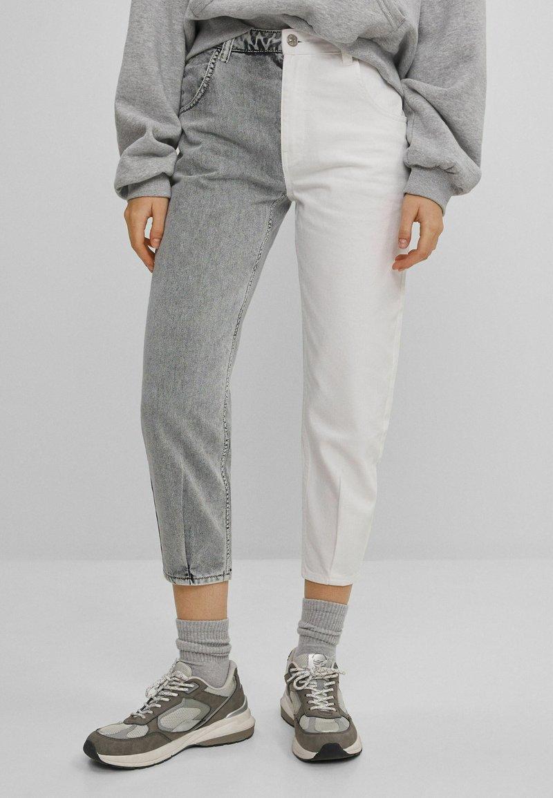 Bershka - IM MOM  - Jeans baggy - grey