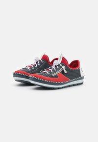 Rieker - Volnočasové šněrovací boty - blau - 2