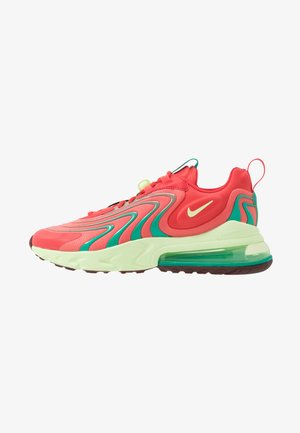 AIR MAX 270 REACT ENG - Matalavartiset tennarit - track red/barely volt/magic ember/neptune green/team red