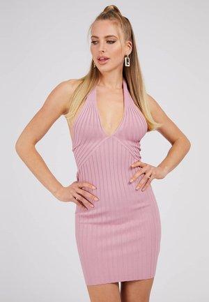 ADDY CROSSED DRESS - Shift dress - rose
