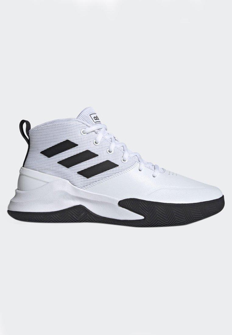 Simplificar familia real veneno  adidas Performance OWNTHEGAME - Zapatillas de baloncesto -  white/black/blanco - Zalando.es