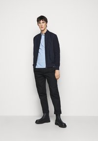 Hackett London - SLIM FIT LOGO - Polo shirt - blue - 1
