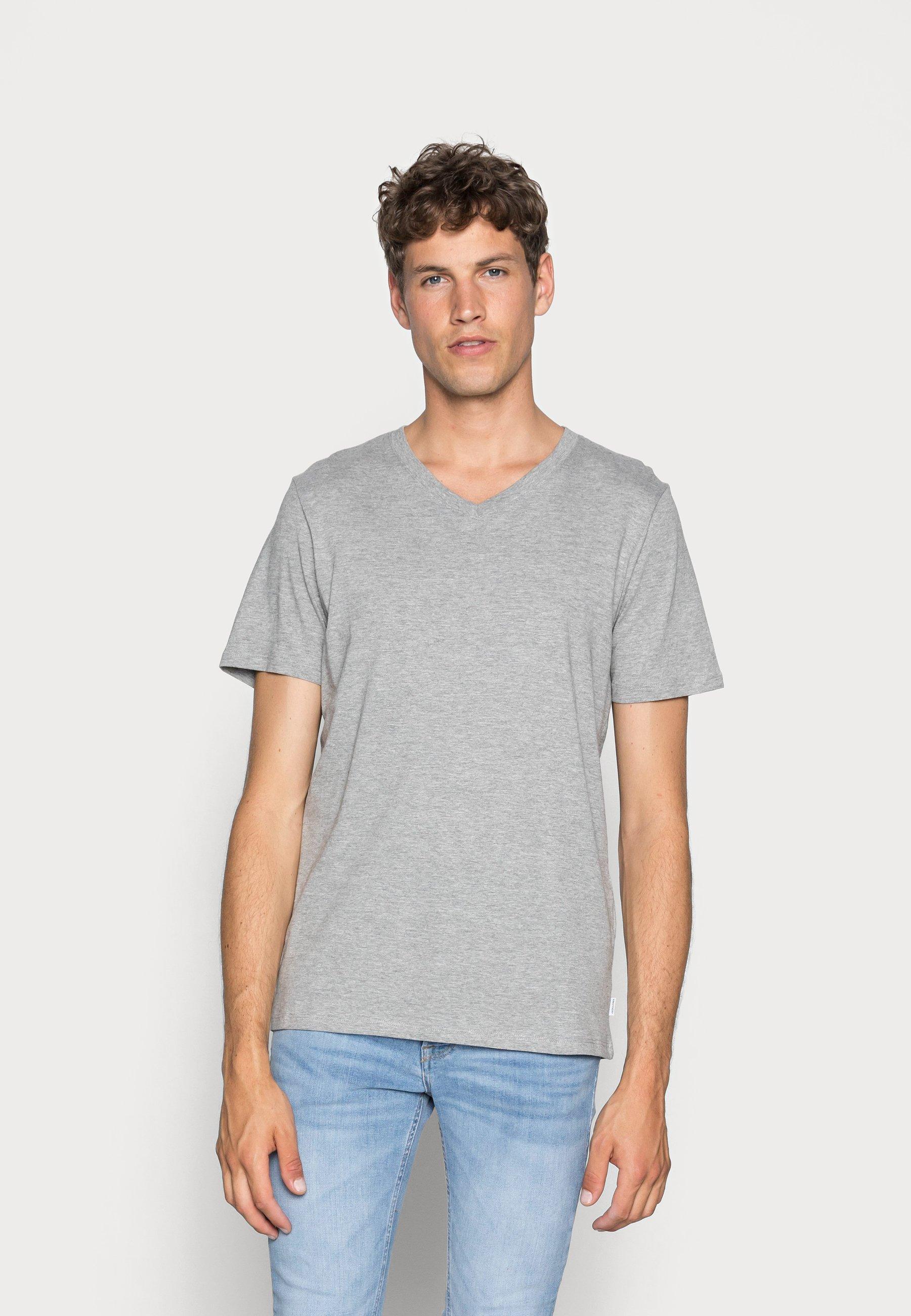 Uomo JJEPLAIN  - T-shirt basic