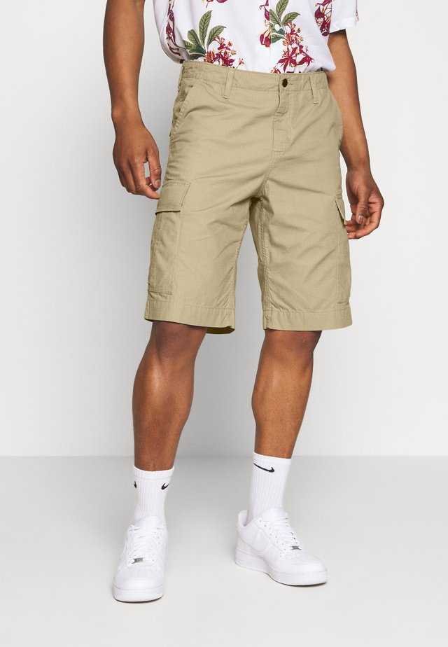 REGULAR CARGO COLUMBIA - Shorts - leather rinsed