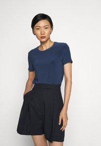 Max Mara Leisure - VALETTE - Basic T-shirt - blau - 0