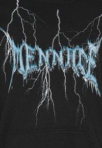 Mennace - LIGHTNING STRIKE HOODIE - Sweater - black - 2