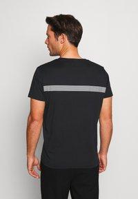 GANT - STRIPE - Camiseta estampada - black - 2