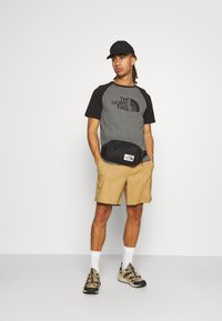 The North Face - RAGLAN EASY TEE - T-shirts med print - mottled grey - 1