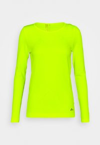 ONLY Play - ONPSTACIA CIRCULAR - Funktionsshirt - safety yellow - 4