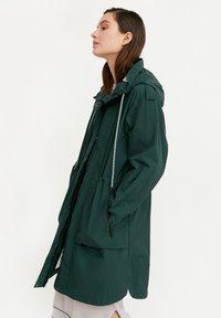 Finn Flare - Waterproof jacket - dark green - 3