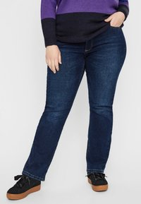 JUNAROSE - by VERO MODA - Slim fit jeans - dark blue - 0