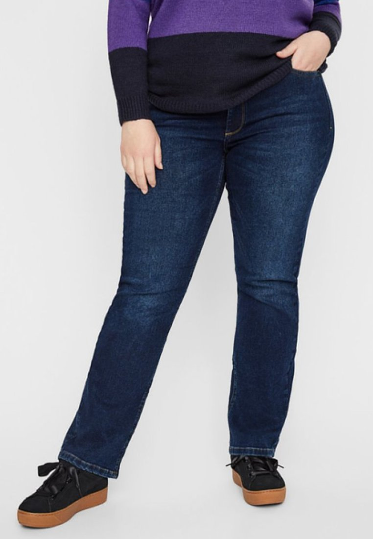 JUNAROSE - by VERO MODA - Slim fit jeans - dark blue