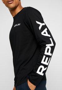 Replay - Maglietta a manica lunga - black - 4