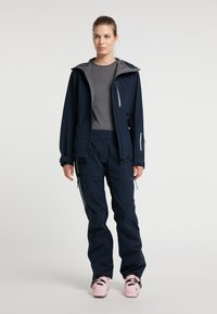 PYUA - Waterproof jacket - navy blue - 1