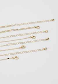 ONLY - ONLDAPHNE CHAIN NECKLACES 4 PACK - Naszyjnik - gold-coloured - 3