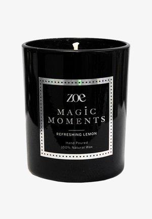 MAGIC MOMENTS  REFRESHING LEMON - Scented candle - black