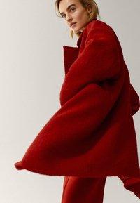 Massimo Dutti - Classic coat - red - 2