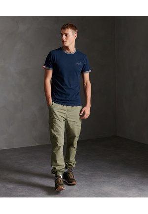 OL RINGER - Basic T-shirt - rich navy
