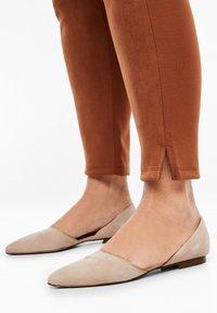 Triangle - Leggings - Trousers - cognac - 3