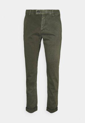Chino kalhoty - olive
