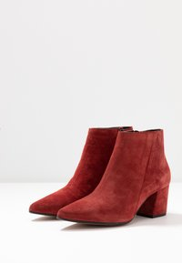 Bianco - BIACALAIS TILT BOOT - Ankle boot - winered - 4
