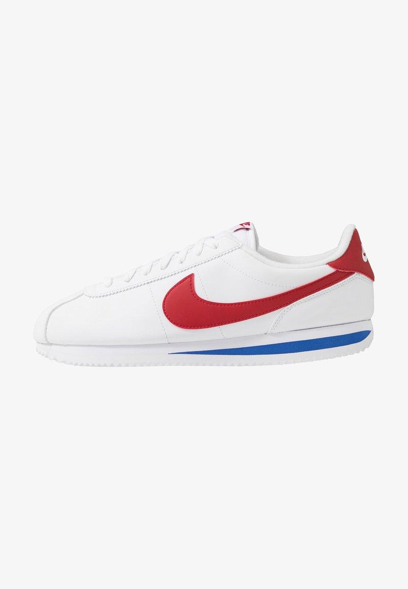 Nike Sportswear - CORTEZ BASIC - Trainers - white/varsity red/varsity royal