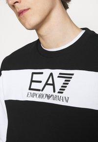 EA7 Emporio Armani - Collegepaita - black/white - 6