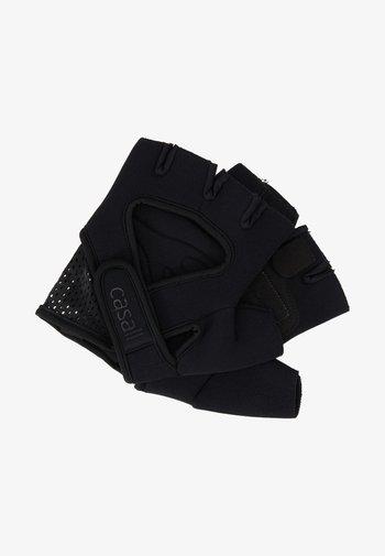 EXERCISE GLOVE STYLE - Fingerhansker - black