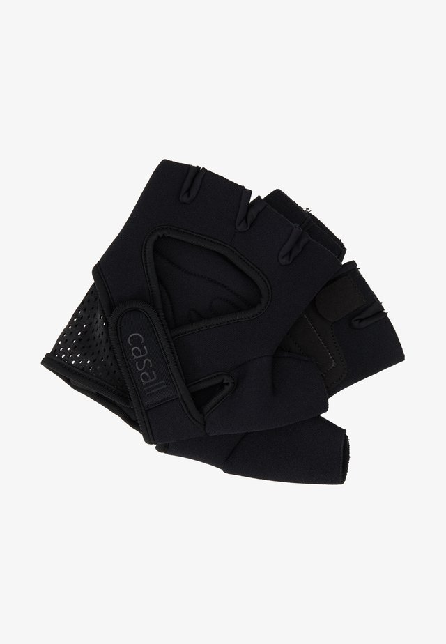 EXERCISE GLOVE STYLE - Fingerless gloves - black