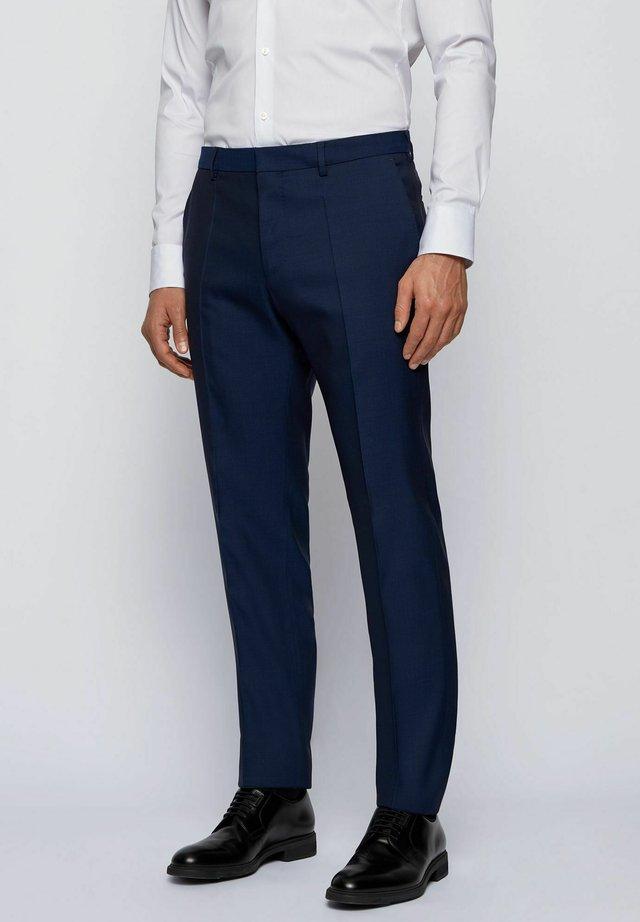 ESP GANDER - Pantalon de costume - dark blue