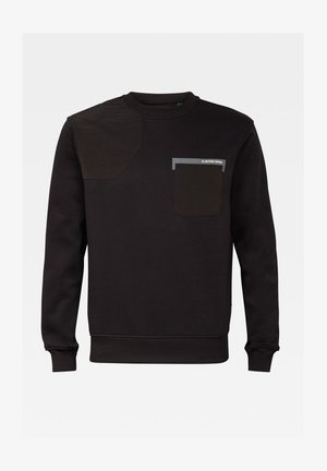 HUNTING PATCH - Sweatshirt - dk black
