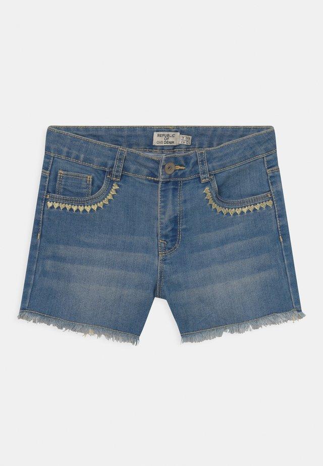 HEARTS - Shorts di jeans - blue shadow