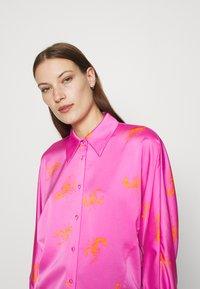 Cras - BIJOU - Button-down blouse - pink - 5