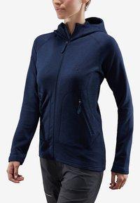 Haglöfs - HERON HOOD - Fleece jacket - tarn blue - 0
