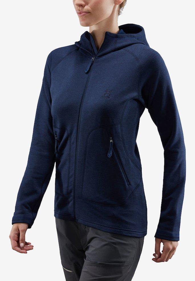 Haglöfs - HERON HOOD - Fleece jacket - tarn blue