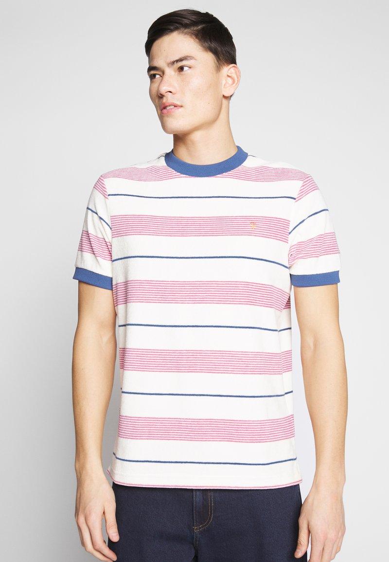 Farah - BIGGS - T-shirt print - cream