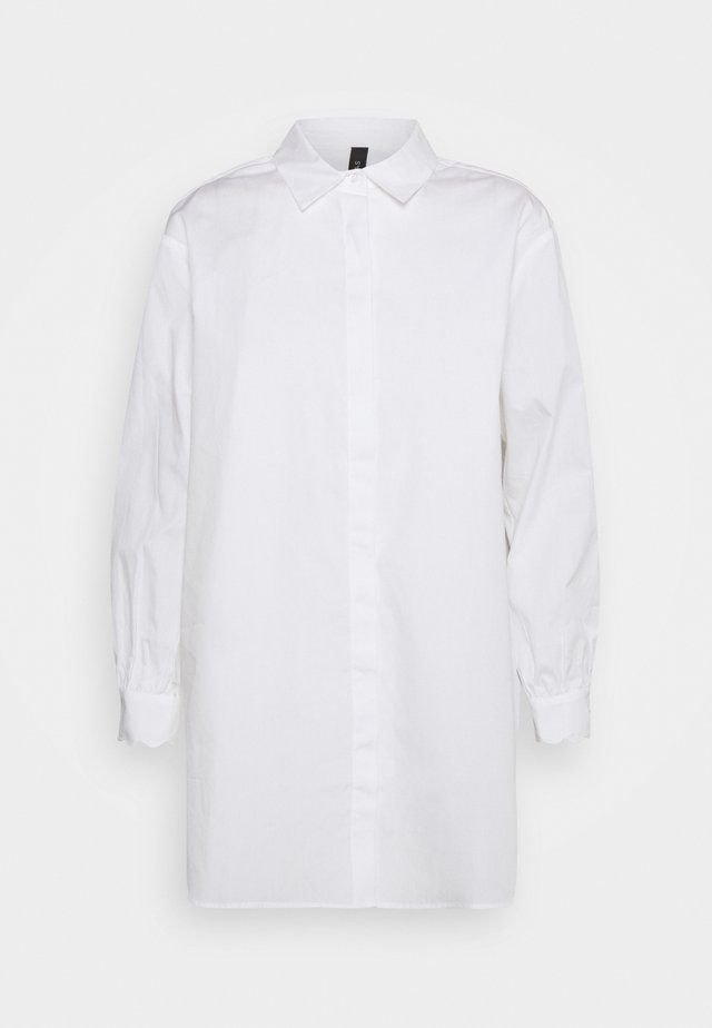 YASBELLA OVERSIZE - Button-down blouse - bright white