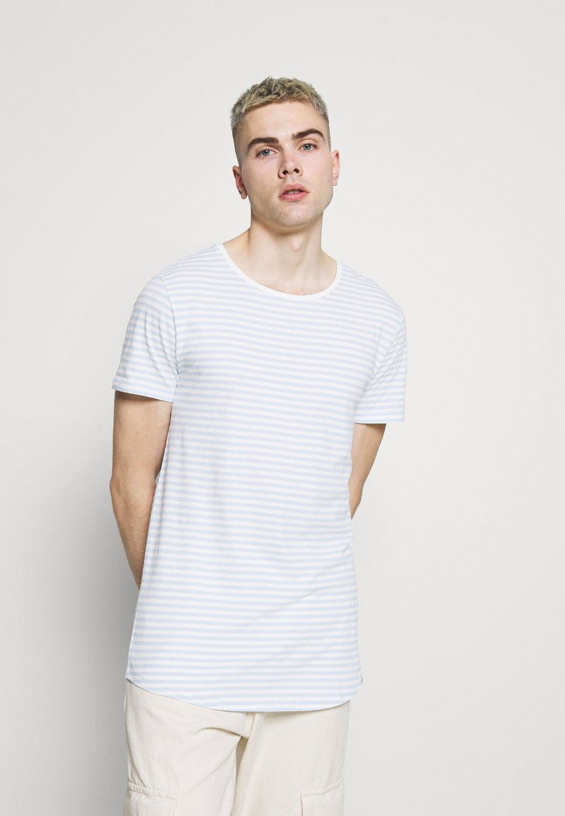 Lee - SHAPED TEE - Basic T-shirt - skyway blue
