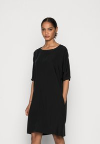 Marc O'Polo - DRESS SHORT LENGTH - Day dress - dusty black - 0