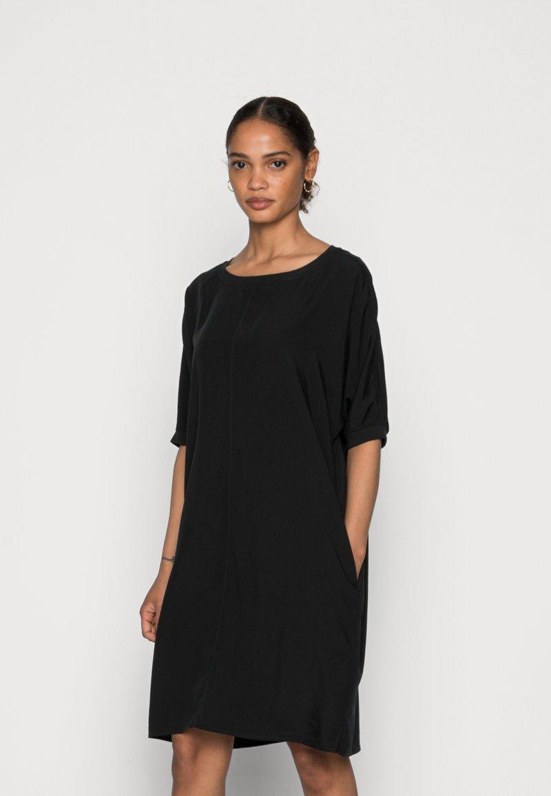Marc O'Polo - DRESS SHORT LENGTH - Day dress - dusty black