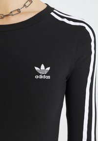 adidas Originals - ORIGINALS ADICOLOR BODYWEAR SUIT FITTED - Bluzka z długim rękawem - black - 6