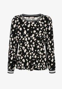 Alba Moda - Long sleeved top - schwarz,off-white,taupe - 6