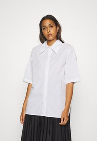 Weekday - LESLEY - Button-down blouse - white - 0