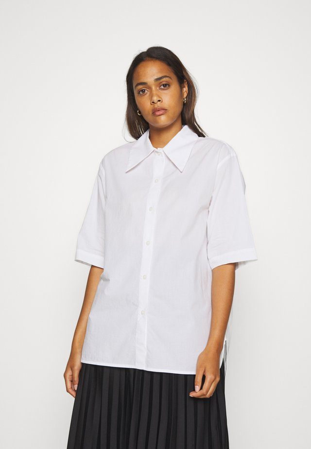LESLEY - Button-down blouse - white