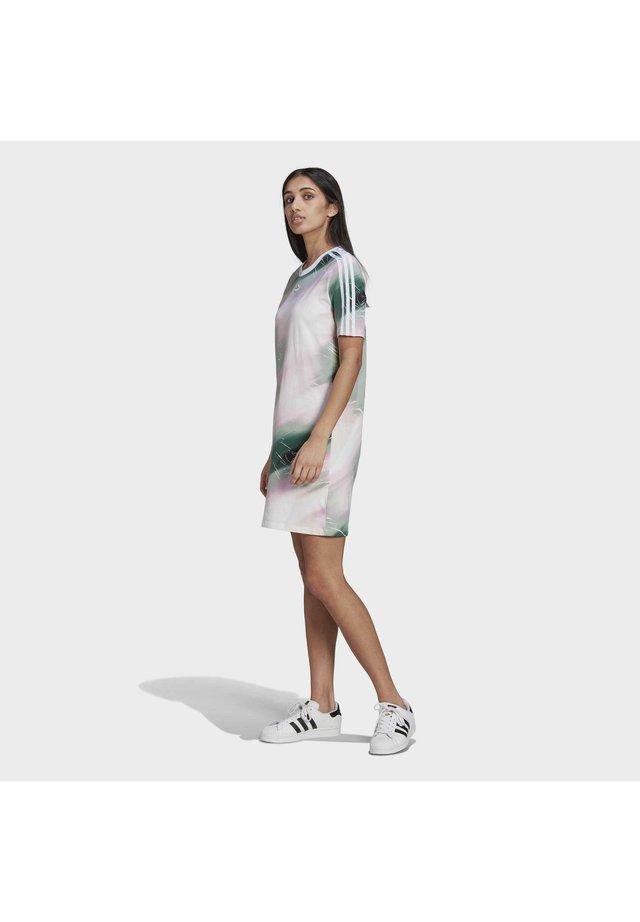 Sukienka letnia - white/green