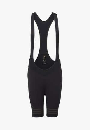 adistar Engineered Woven Bib Shorts - Tights - black