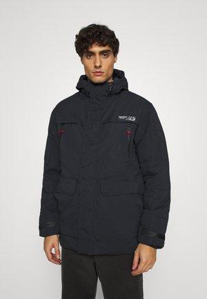 Winter coat - black navy
