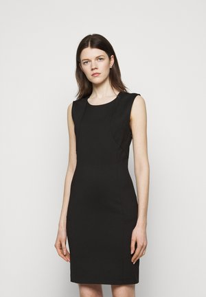 DRESS - Shift dress - nero